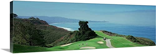 Golf Course at The Coast Torrey Pines Golf Course San Diego California Canvas Wall Art Print