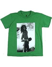 Ping Pong Pic Image Kids Youth Green T Shirt