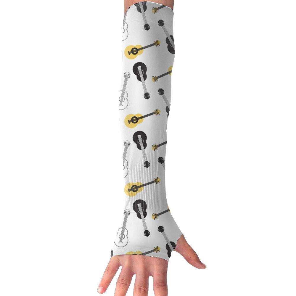 Unisex Acoustic Guitar Sense Ice Outdoor Travel Arm Warmer Long Sleeves Glove