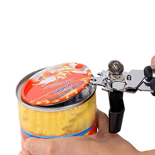 Smooth Edge Can Opener - Yamoo Manual Safe Cut Can Opener, Prevents Sharp Edges, Kitchen-Safe, Rust-Resistant, Easy Turn Knob & Ergonomic Anti-slip Handle by Yamoo (Image #5)