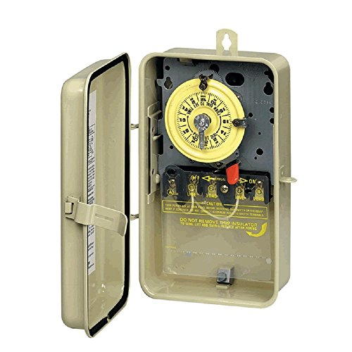 Intermatic T104R3 Metal Time Clock with Case by Intermatic