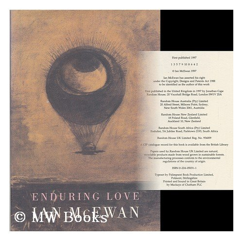 enduring love notes chapter 5 The role of sciencewhat kind of science is joe interested inobjective: begin to investigate the role ofscience in the narrative of enduring love.