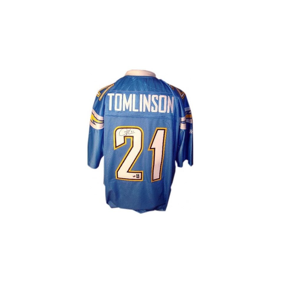 LaDainian Tomlinson San Diego Chargers Autographed Authentic Powder Blue Jersey