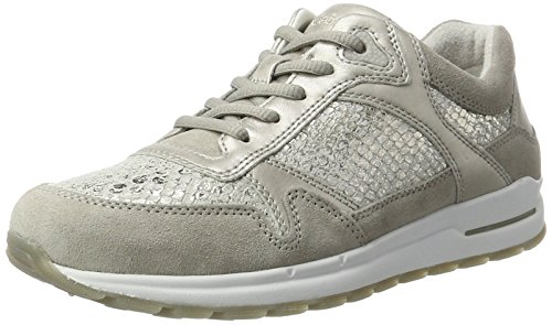 Gabor Comfort puder hgrau Sneakers Gris Basses Shoes 39 Femme stone r5xqwfr8U