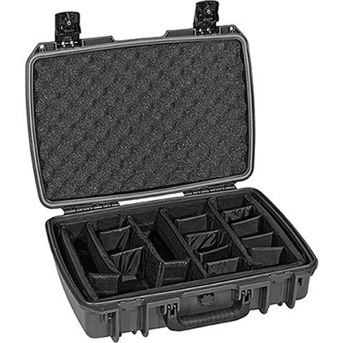 iM2370 Storm Case with Padded Dividers (Black) [並行輸入品] B07MMJQSYW