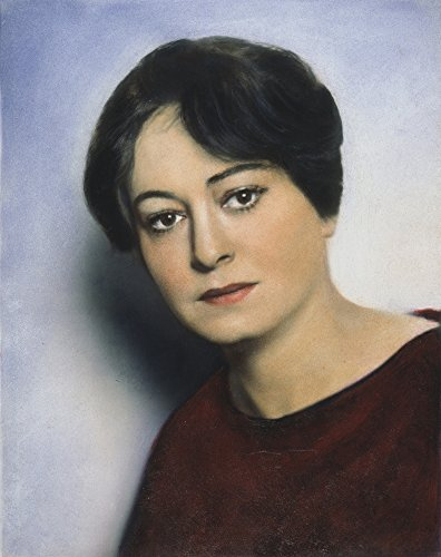Posterazzi Poster Print Collection Dorothy Parker (1893-1967)./Namerican Writer. Oil Over a Photograph 1928, (24 x 36), Multicolored