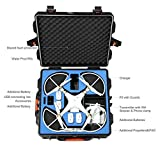 DJI Phantom 3 Waterproof Case, Rugged Military Grade designed to fit the Phantom 3 Professional, and Advanced Edition Drones WITH PROP GUARDS ON, Koozam Products (gaga)