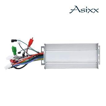Amazon.com: Asixx Motor sin escobillas controlador, 36 V/48 ...