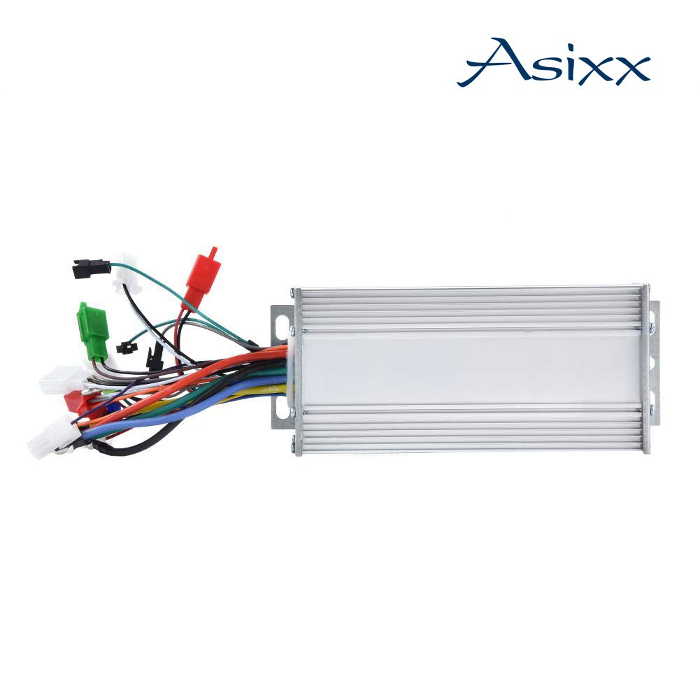 Asixx Motor Brushless Controller, 36V/48V 1000W Brushless Motor Sine Wave Controller for Electric Bicycle Scooter