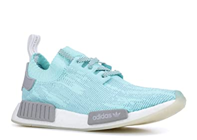more photos b2aa4 3b045 Amazon.com | adidas NMD R1 PK Mens in Energy Aqua/Grey/Cloud ...