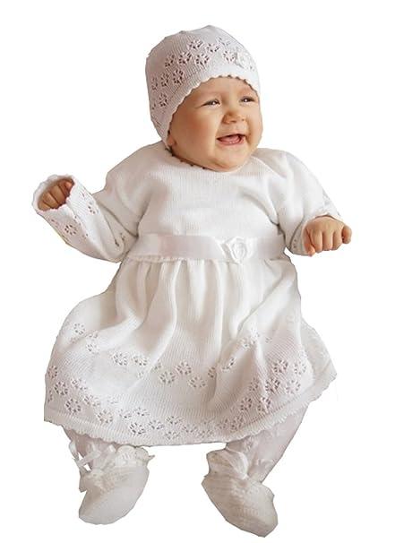 4eed661f2 deine-Brautmode - Ropa de bautizo - para bebé niña: Amazon.es: Ropa y  accesorios