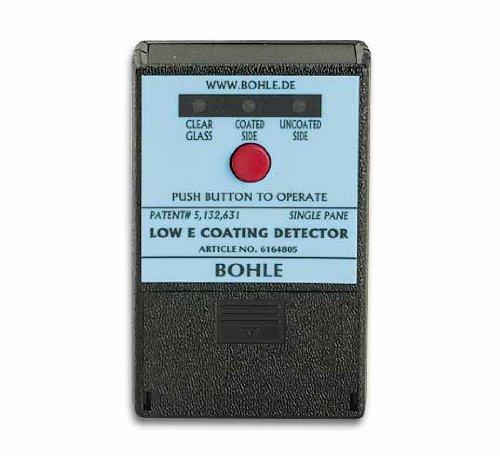 BOHLE BO 6164805 Glasbeschichtungsdetektor ermittelt Low-E-Beschichtung