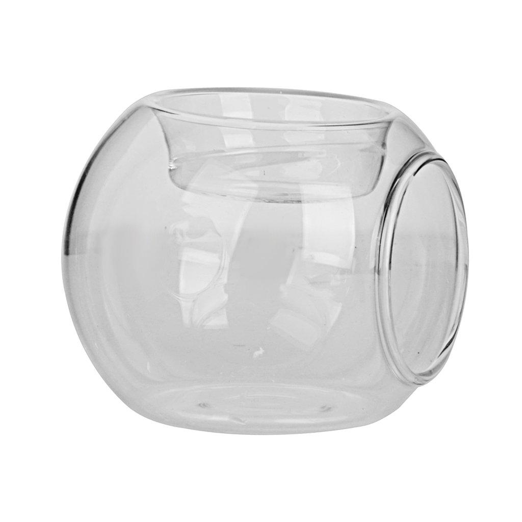 8x6, 5cm Palla Vaso Vetro Lanterna Porta Candele Tavola Bonsai Decor Casa Generico AEQW-WER-AW137260