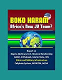 img - for Boko Haram: Africa's New JV Team? Report on Nigeria (GoN) and U.S. Bilateral Relationship, AQIM, Al Shabaab, Islamic State, ISIS, Ethnic and Military Infrastructure, Caliphate System, AFRICOM, AGOA book / textbook / text book