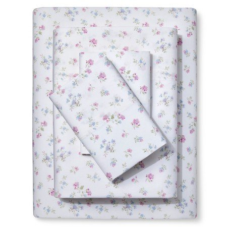 New ® Sheet Set Candy Pink Queen (Simply Shabby Chic Bedding)