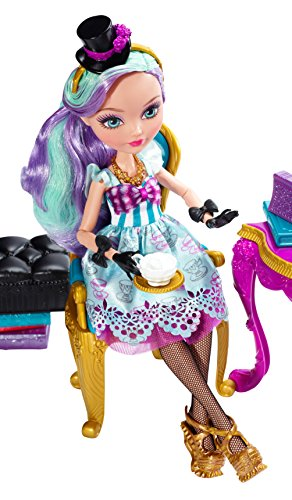 Ever After High Hat-Tastic Madeline Hatter Doll and Party Display (Discontinued by manufacturer)