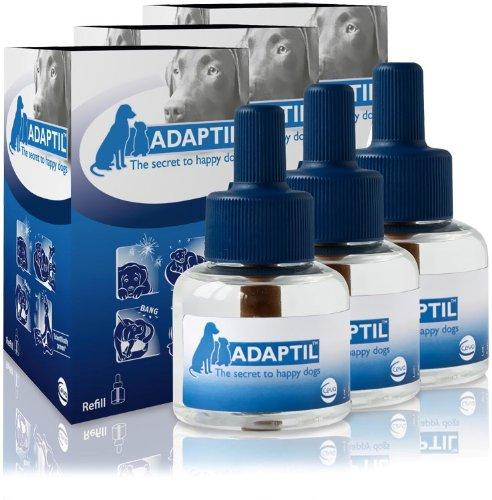 3 PACK ADAPTIL (D.A.P.) Dog Appeasing Pheromone REFILL (144mL), My Pet Supplies