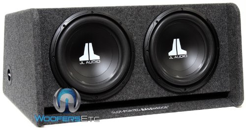 "JL Audio CP212-W0V3 Dual 12"" 12W0v3 Ported Subwoofer Enclosure Box"