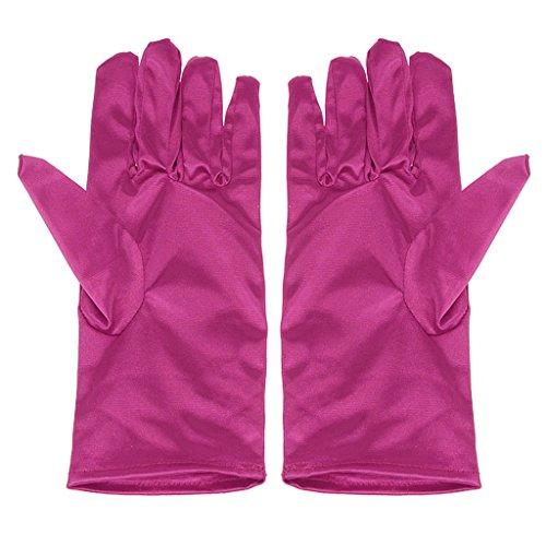 FAKEFACE 短い手袋 儀式 宴会 演出 専用 手袋 ホテルスタッフ用 グローブ ローズ