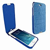 Piel Frama 685 Blue Crocodile iMagnum Leather Case for Apple iPhone 6 Plus / 6S Plus / 7 Plus / 8 Plus