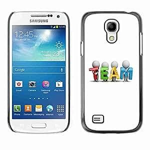 Planetar® ( TEAM ) Fundas Cover Cubre Hard Case Cover Samsung Galaxy S4 MINI / i9190 / i9192