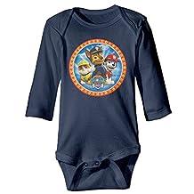 Paw Patrol Baby Long Sleeve Bodysuits