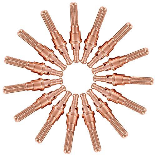 (15pcs 9-8215 Plasma Electrode,Fits for Thermal Dynamics SL60 & SL100 Plasma Cutter Torch,Top Quality Plasma Aftermarket Consumables Electrode)