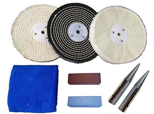 bench grinder polishing kit - 3