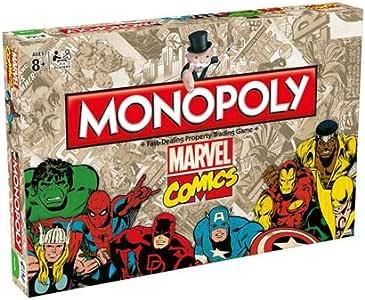 Marvel Comics Monopoly: Amazon.es: Juguetes y juegos
