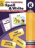 Skill Sharpeners Spell & Write, Kindergarten