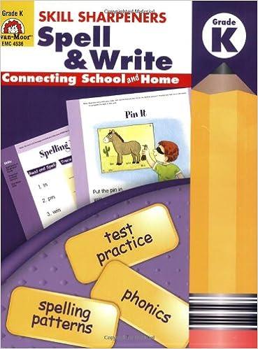 Amazon.com: Skill Sharpeners Spell & Write, Kindergarten ...