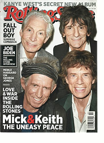 Rolling Stone Magazine (May 23, 2013) The Rolling Stones Cover