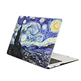 YMIX  Plastic Cover Snap on Hard Protective Case for MacBook Pro 13' with CD-ROM (A1278) , 01 Starry Night