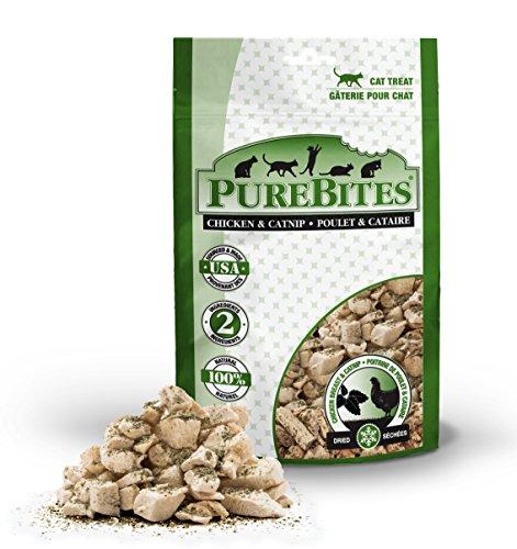 Purebites Chicken Breast & Catnip Freeze-Dried Cat Treats 1.3Oz / 37G | Value Size