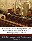 Status of State Programs for Hazardous and Solid Waste Management 1978, , 1293277665