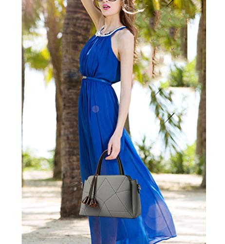 Flht Cosméticos Baul Almacenamiento Bolsa Organizador Del Grey Moda Hombro Bolsos Damas Venta Para Mujer Cuero De qrC6qw1