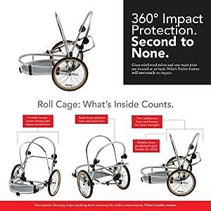 Best Child Bike Trailers - WIKE WDOTRAOG Moonlite Bicycle Trailer