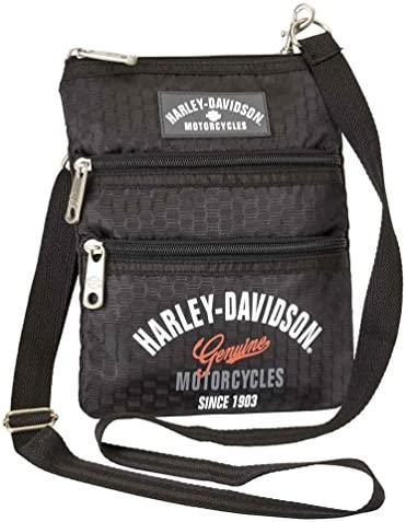 Harley Davidson (Cross X-Body Slings Dragon Backpack, Black, One Size