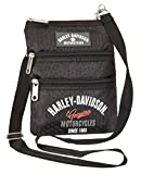 Harley Davidson (Cross) X-Body Slings Dragon Backpack, Black, One Size