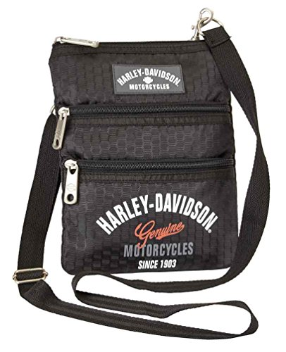 Harley Davidson (Cross X-Body Slings Dragon Backpack, Black, One Size from Harley-Davidson