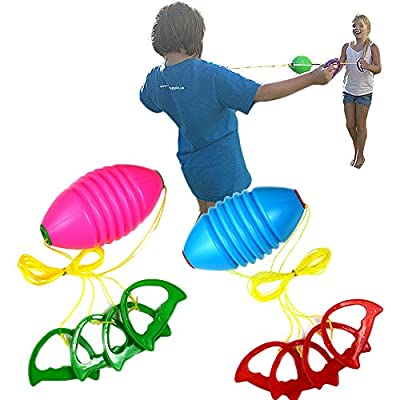 Zip and Zoom Ball Game - Fitness Sliding Ball Games for Kids, Teens and Adults - Slider Activity Upper Body Workout Sport Exerciser - Bilateral Coordination Family Toy.: Toys & Games