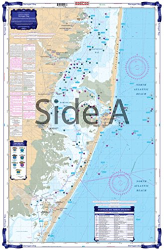 (Waterproof Charts, Coastal Fishing, 56F Barnegat Bay)