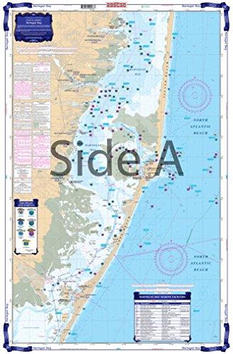 Waterproof Charts, Coastal Fishing, 56F Barnegat Bay ()