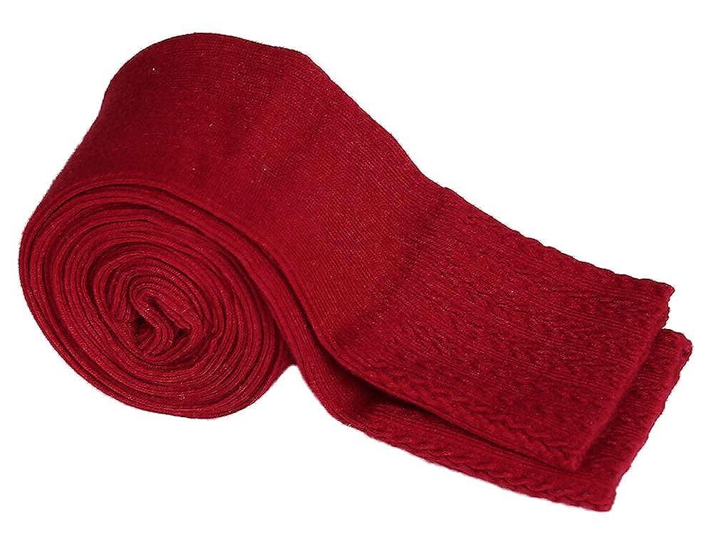 DealHouse Kids Girls Autumn Winter Cotton Stretch Cable Knit Tight Leggings Pants 3-12Y
