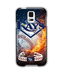 Tomhousomick Custom Design Forever MLB Tampa Bay Rays Team Case Cover for Samsung Galaxy S5