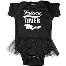 Inktastic - Future Diver Scuba Diving Infant Tutu Bodysuit