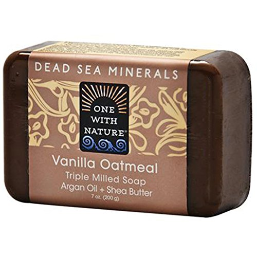 One with Nature, Vanilla Oatmeal Soap Bar, 7 oz (200 g) - 2pc