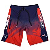 FOCO New England Patriots Gradient Board Short Double Extra Large 38
