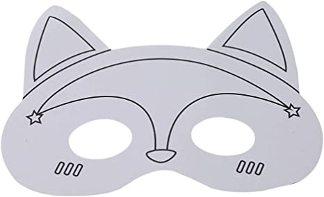 Amazon Com Youcy Mascarilla De Animales Para Fiestas Dibujos