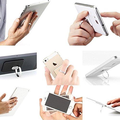Soporte Adhesivo Universal Con Forma de Anillo Para Movil o Tablet Samsung iPhone lg htc nokia: Amazon.es: Electrónica